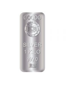 Emirates 1kg Silver 999 - Cond: B