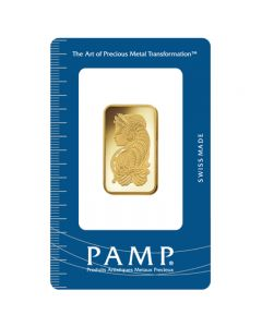 Pamp Suisse of Lady Fortuna 20g Gold 999.9 - Cond: A